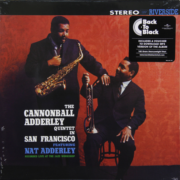 Adderley Cannonball Adderley Cannonball - In San Francisco (180 Gr) кэннонболл эдерли милт джексон cannonball adderley with milt jackson things are getting better lp