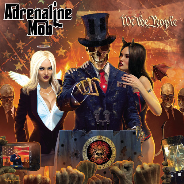 Adrenaline Mob Adrenaline Mob - We The People (2 Lp+cd) cd foster the people sacred hearts club
