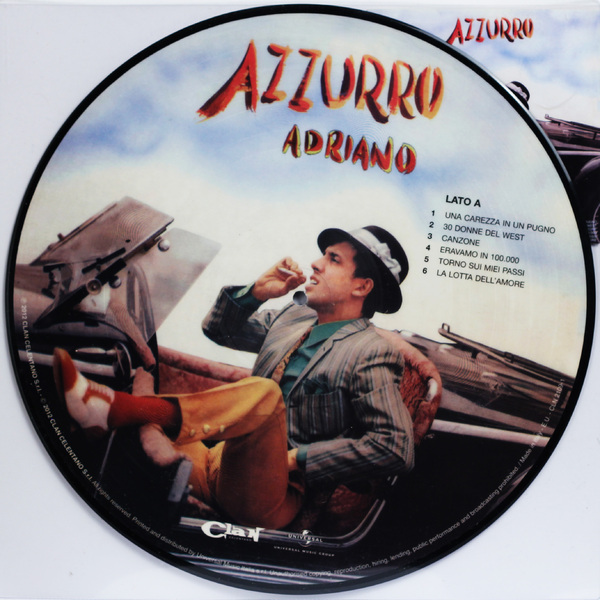 Adriano Celentano Adriano Celentano - Azzurro adriano celentano unicamentecelentano deluxe edition 2 cd