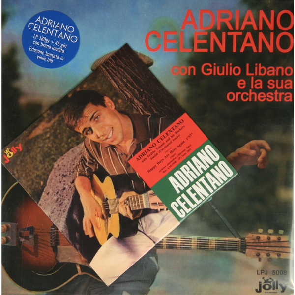 Adriano Celentano Adriano Celentano - Bacio (2 Lp 180 Gr + Ep 45 Rpm) виниловая пластинка adriano celentano il ragazzo della via gluck