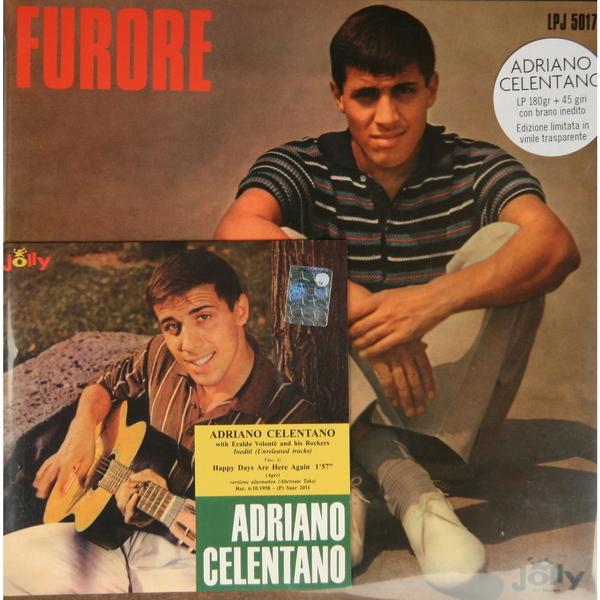 Adriano Celentano Adriano Celentano - Furore (lp 180 Gr + Ep 45 Rpm) виниловая пластинка adriano celentano il ragazzo della via gluck