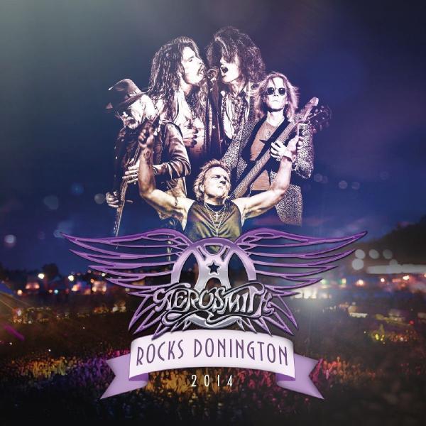 Aerosmith - Rocks Donington 2014 (colour, 3 Lp + Dvd)