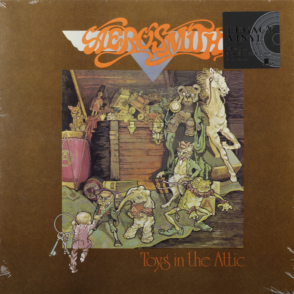 Aerosmith Aerosmith - Toys In The Attic jacques lemans jl 1 1801m