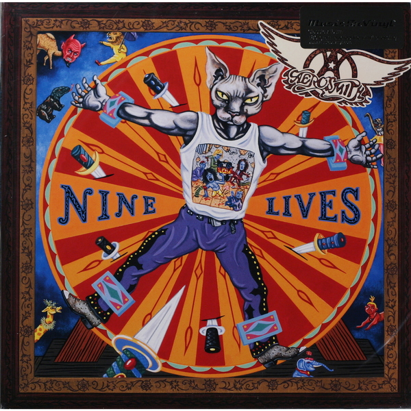 Aerosmith Aerosmith - Nine Lives (2 Lp, 180 Gr) procol harum procol harum in concert 2 lp 180 gr