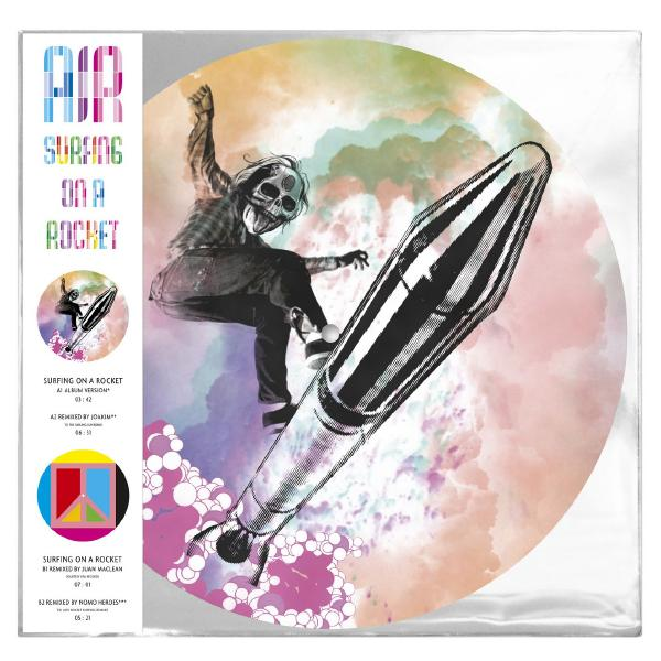 Картинка для AIR AIR - Surfing On A Rocket (picture Disc)