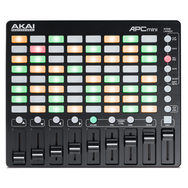 MIDI-контроллер AKAI Professional APC mini fingerband god los roselle