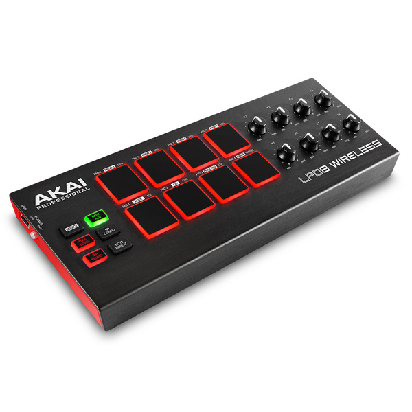 MIDI-контроллер AKAI Professional LPD8 Wireless akai pro mpc fly usb midi