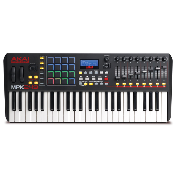 MIDI-клавиатура AKAI Professional MPK249 akai professional mpc studio black