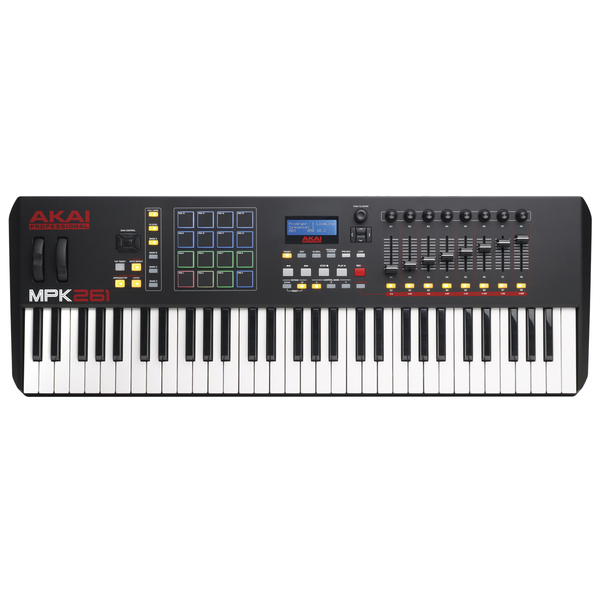MIDI-клавиатура AKAI Professional MPK261 USB advantages mean well sp 240 5 5v 45a meanwell sp 240 5v 225w single output with pfc function power supply [real6]