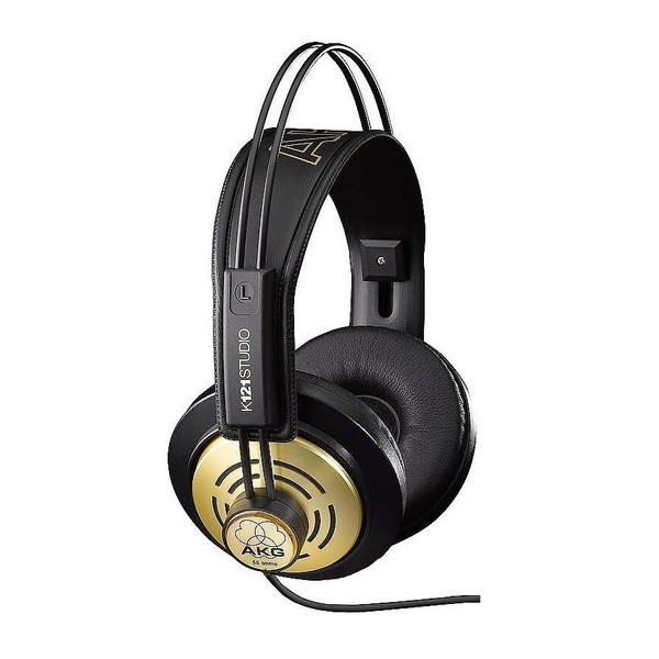 Накладные наушники AKG K121 Studio Black/Gold гарнитура akg y45bt black
