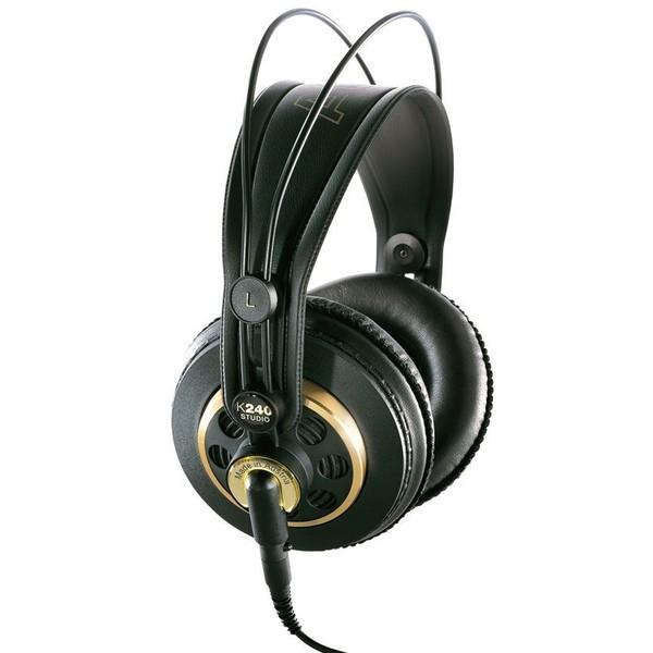 Охватывающие наушники AKG K240 Studio Black кабель akg 2m cs3ec002