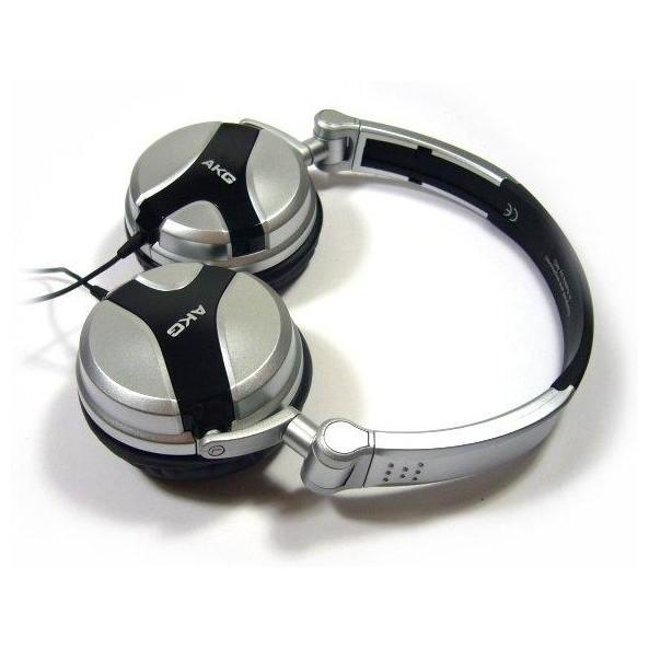 Охватывающие наушники AKG K81 DJ Black/Silver все цены