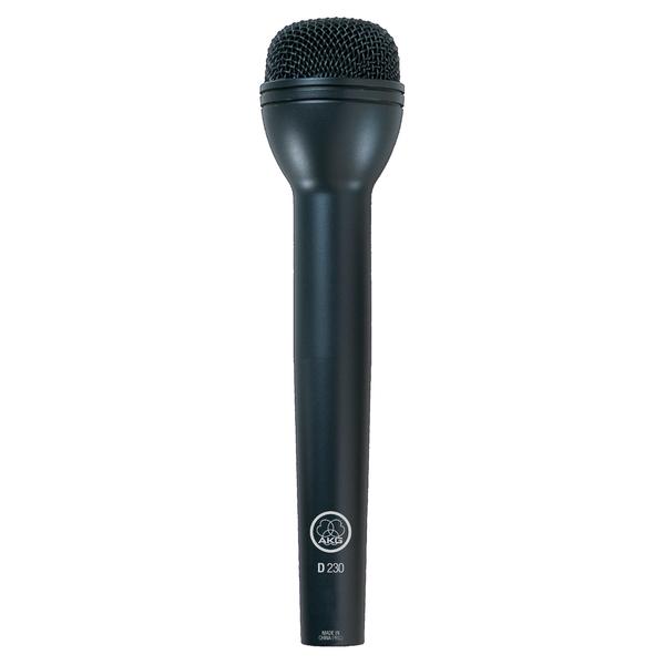 Микрофон для радио и видеосъёмок AKG D230 микрофон для конференций akg микрофонный капсюль ck41