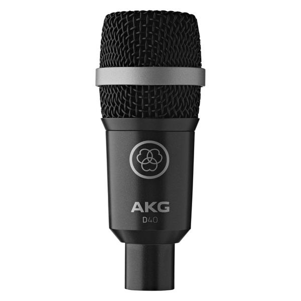 Инструментальный микрофон AKG D40 динамический микрофон philips sbcmd150