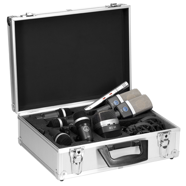 Инструментальный микрофон AKG Drum Set Premium инструментальный микрофон akg d40