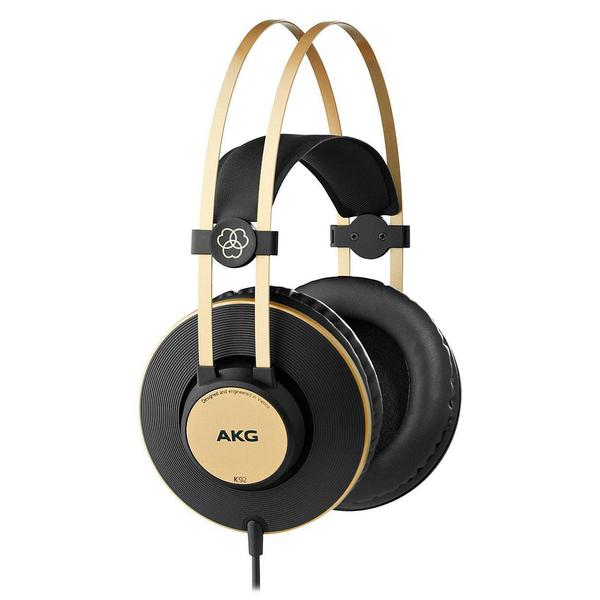 Охватывающие наушники AKG K92 Black/Gold akg k 181 dj ue