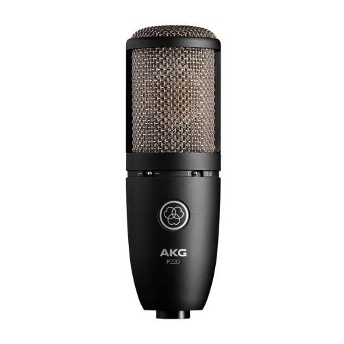 Студийный микрофон AKG P220 инструментальный микрофон akg d40