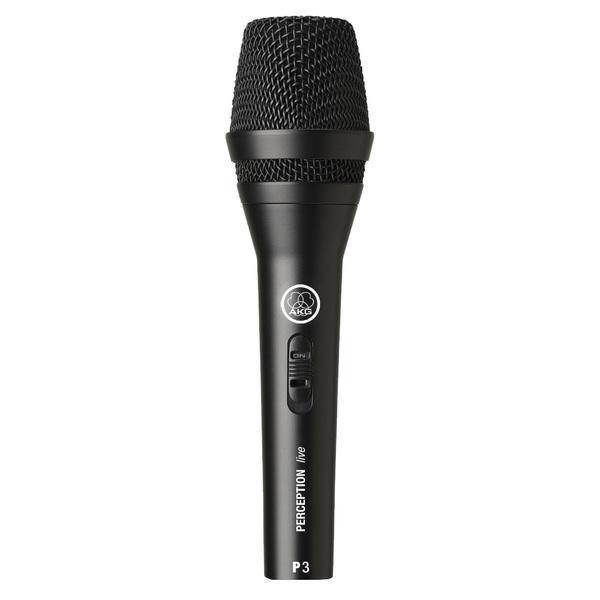 Вокальный микрофон AKG P3 S динамический микрофон akg d7