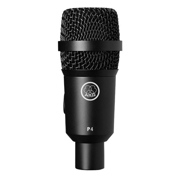 Инструментальный микрофон AKG P4 инструментальный микрофон akg d40