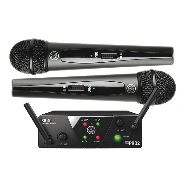 Радиосистема AKG WMS40 Mini2 Vocal Set BD US45A/C радиосистема akg wms40 mini2 vocal set bd us45a c