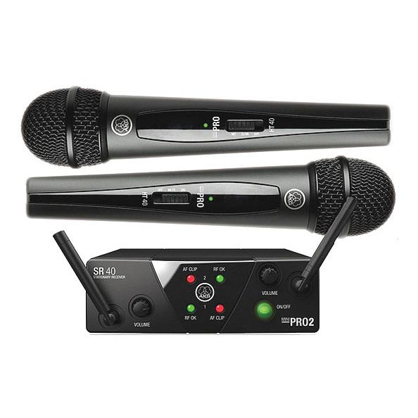 Радиосистема AKG WMS40 Mini2 Vocal Set BD US45A/C (уценённый товар) радиосистема akg wms40 mini2 instrumental set us25ac