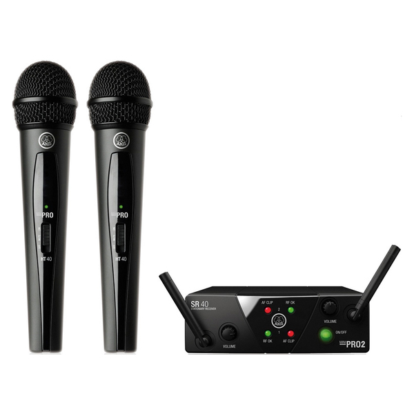 Радиосистема AKG WMS40 Mini2 Vocal Set US25AC akg wms40 mini2 mix set bd ism2 3 864 375864 850