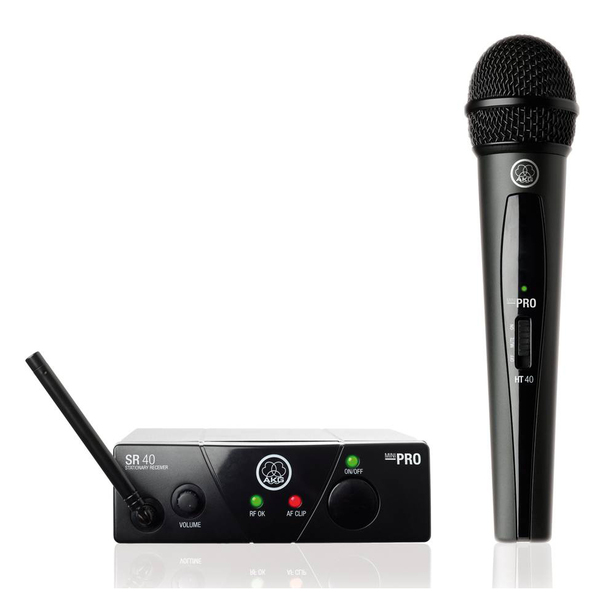 Радиосистема AKG WMS40 Mini Vocal Set Band US25A радиосистема с головным микрофоном akg pw45 sport set band m