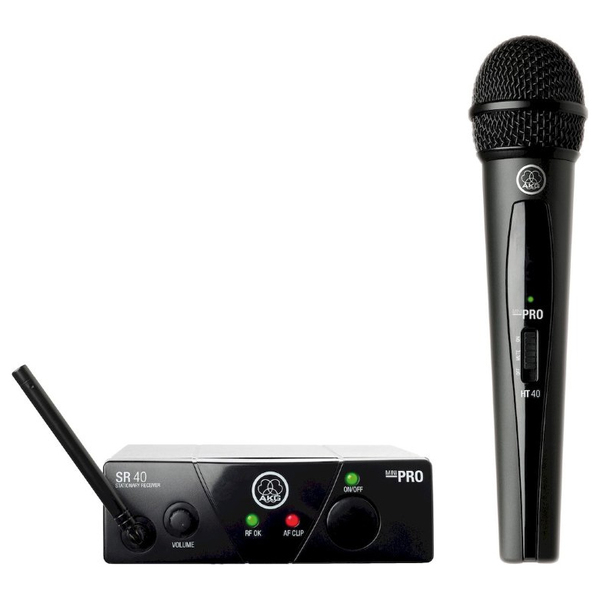 Радиосистема AKG WMS40 Mini Vocal Set Band US25B радиосистема с головным микрофоном akg pw45 sport set band m