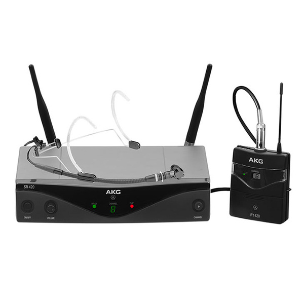 Радиосистема AKG WMS420 Head Set Band U1 радиосистема akg wms420 presenter set band b1