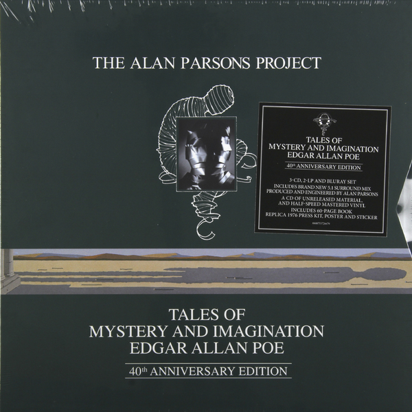 Alan Parsons Project Alan Parsons Project - Tales Of Mystery And Imagination (2 Lp + 3 Cd + Br-a) виниловая пластинка the alan parsons project stereotomy