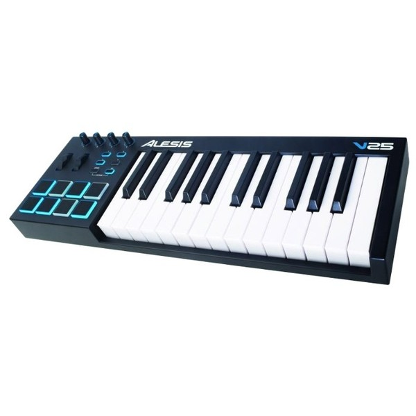 MIDI-клавиатура Alesis V25 midi клавиатура 49 клавиш samson carbon 49