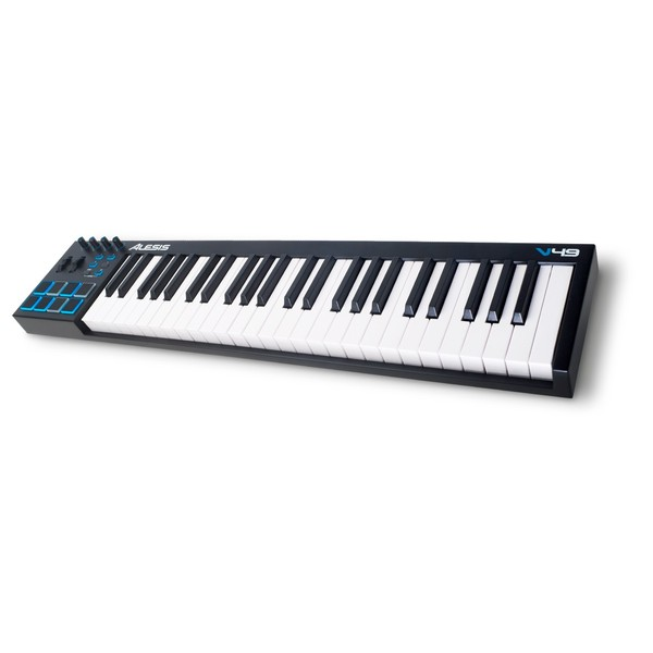 MIDI-клавиатура Alesis V49 midi контроллер alesis sample pad