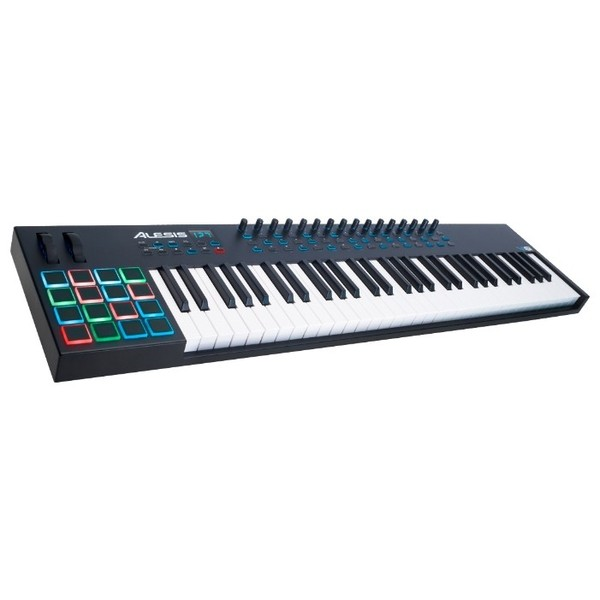 MIDI-клавиатура Alesis VI61 midi контроллер alesis sample pad