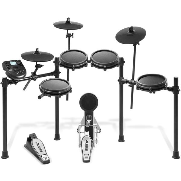 Электронные барабаны Alesis Nitro Mesh Kit midi контроллер alesis samplepad pro