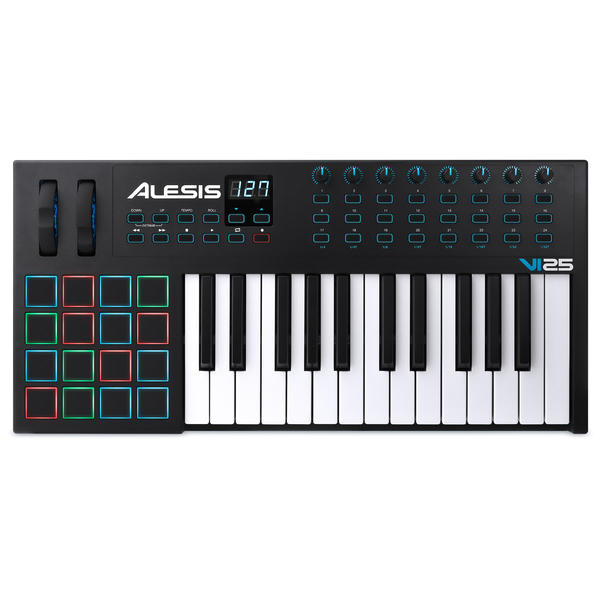 MIDI-клавиатура Alesis VI25 midi контроллер alesis sample pad