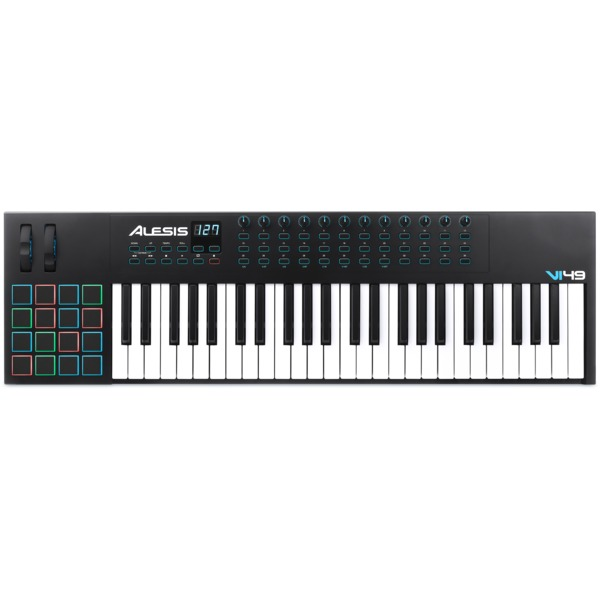 MIDI-клавиатура Alesis VI49 midi контроллер alesis sample pad