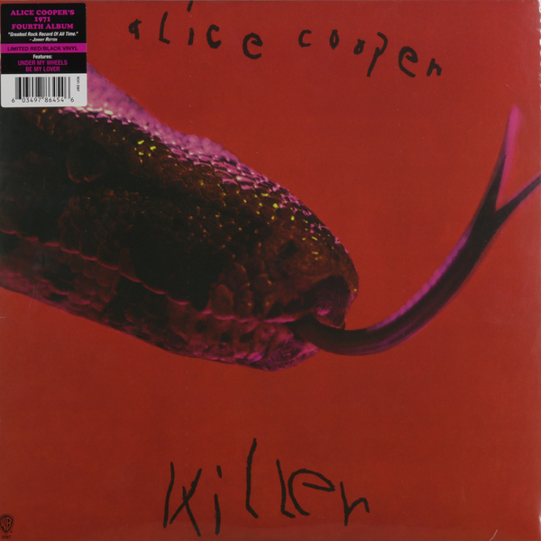 Alice Cooper Alice Cooper - Killer (colour) alice cooper super duper alice cooper welcome to his nightmare