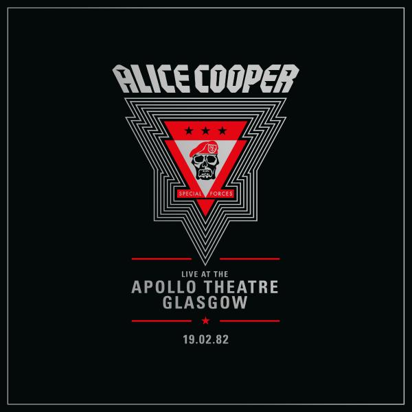 Alice Cooper - Live From The Apollo Theatre Glasgow Feb 19.1982 (limited, 2 LP)