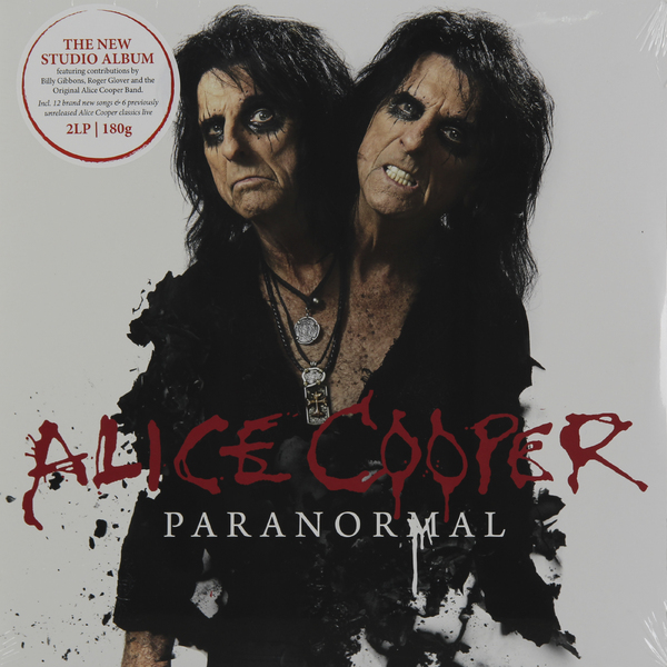 Alice Cooper Alice Cooper - Paranormal (2 Lp, 180 Gr) t4k teeth orthodontic trainer made in australia phase 2 red color