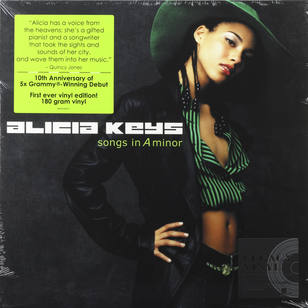 Alicia Keys - Songs In A Minor (2 Lp, 180 Gr)