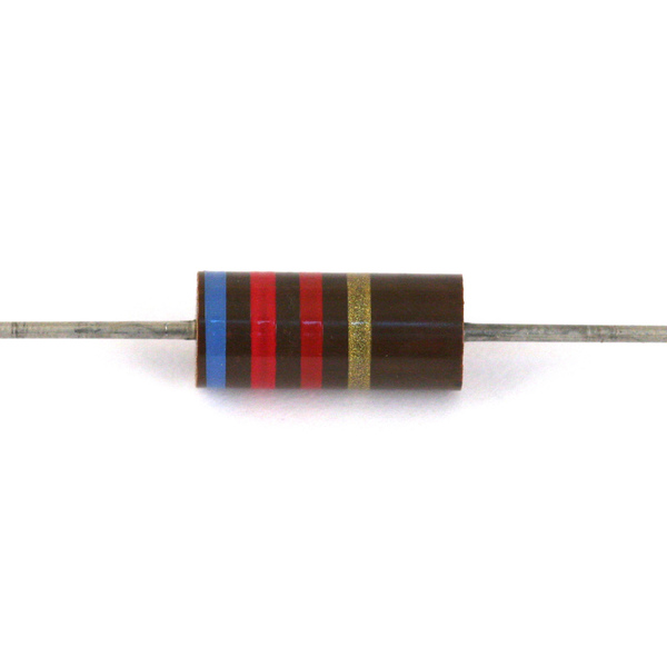 Резистор Allen-Bradley 2W 6.2 KOhm allen bradley 2w 1 8 kohm