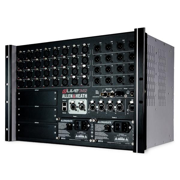 Цифровой микшерный пульт Allen & Heath Цифровой микшерный модуль  DLIVE-DM32 allen lt heath xone42 украина