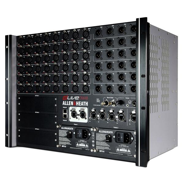 Цифровой микшерный пульт Allen & Heath Цифровой микшерный модуль  DLIVE-DM48 allen lt heath xone42 украина