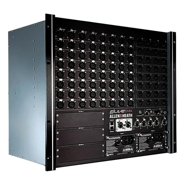 Цифровой микшерный пульт Allen & Heath Цифровой микшерный модуль  DLIVE-DM64