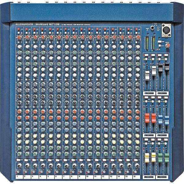 Аналоговый микшерный пульт Allen & Heath MixWizard WZ3 12M аналоговый микшер allen