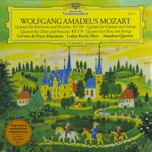 Mozart Mozart - Clarinet Quintet In K; Oboe Quartet In F  - купить со скидкой