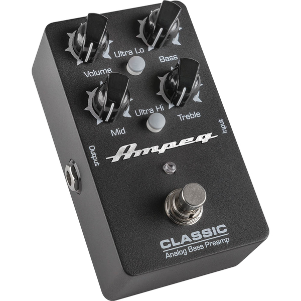 Педаль эффектов Ampeg Classic Analog Bass Preamp ampeg hsvt 810e