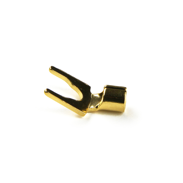 Разъем акустический типа лопатка Analysis-Plus BGS Spade Gold
