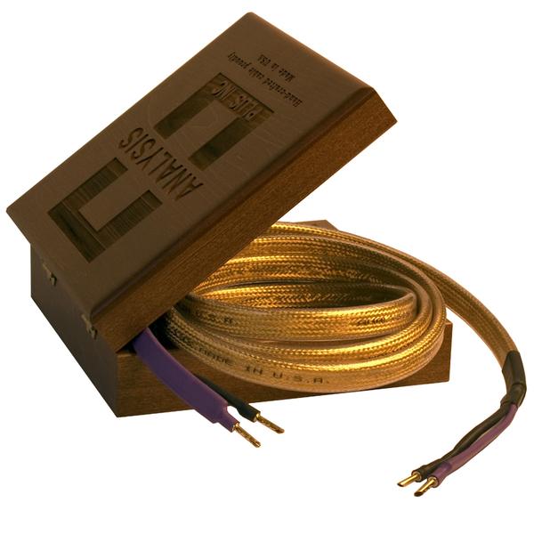 Кабель акустический готовый Analysis-Plus Golden Oval 10 ft/3 m кабель для сабвуфера analysis plus super sub in wall cl3 3 m
