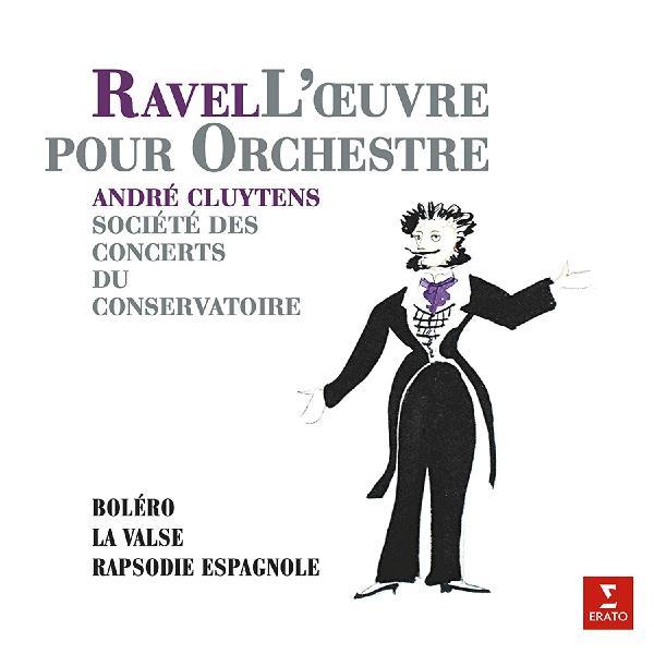 RAVEL RAVELAndre Cluytens - : Bolero, Rapsodie Espagnol (180 Gr)